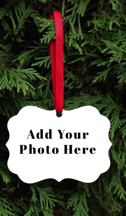 Benelux Personalized Ornament - Add your own picture
