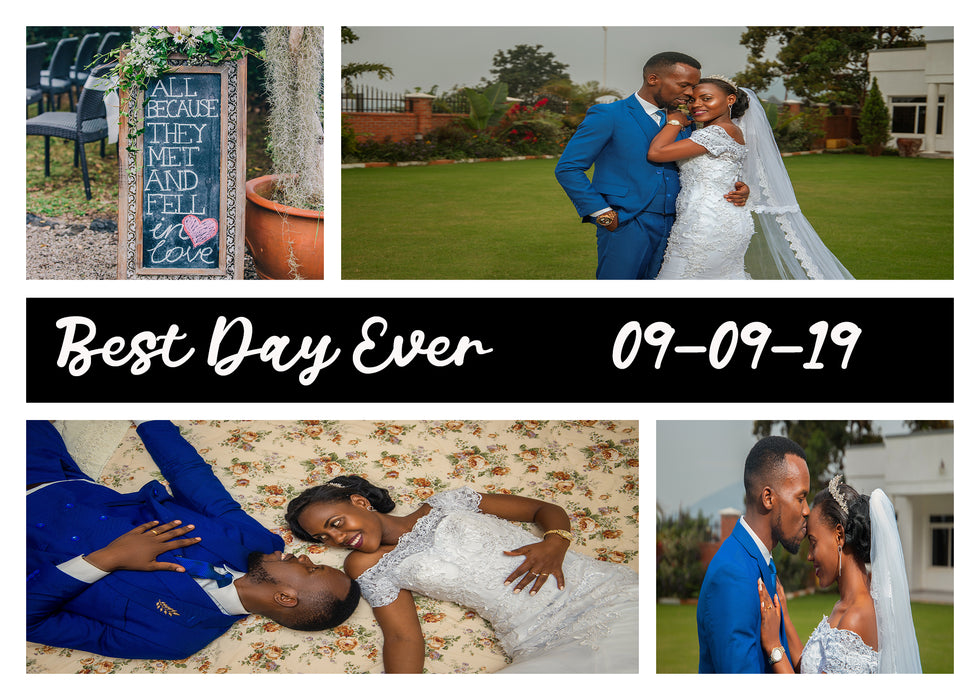 Best Day Ever Personalized 252 Piece Photo Puzzle