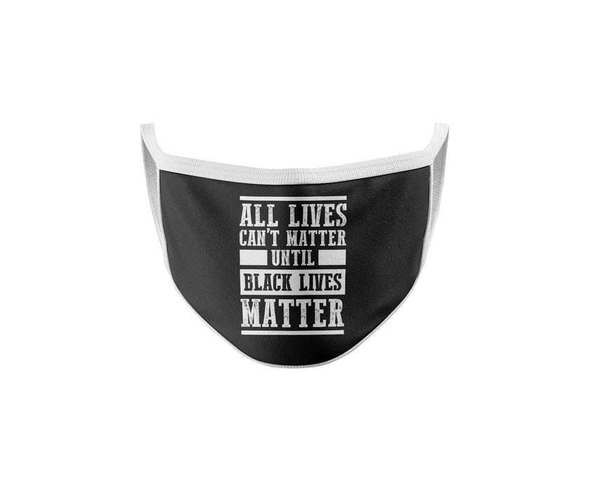 Black Lives Matter - This Mask Does Not Silence Me