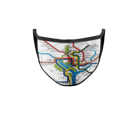 Represent Your Hood - DC Subway Map