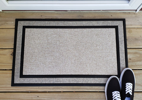 Custom Rubber Backed Doormat