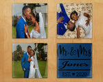 Glass custom / personalized picture coasters