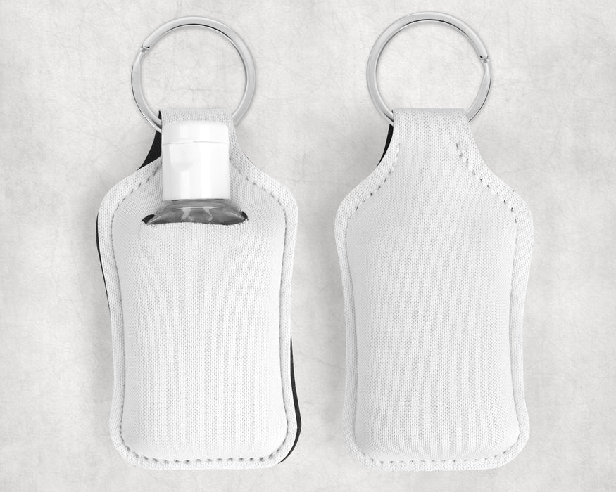 Personalized Hand Sanitizer Holder Key chain - You customize it