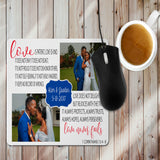 Love Is....Mug, Mouse Pad or 252 Photo Puzzle