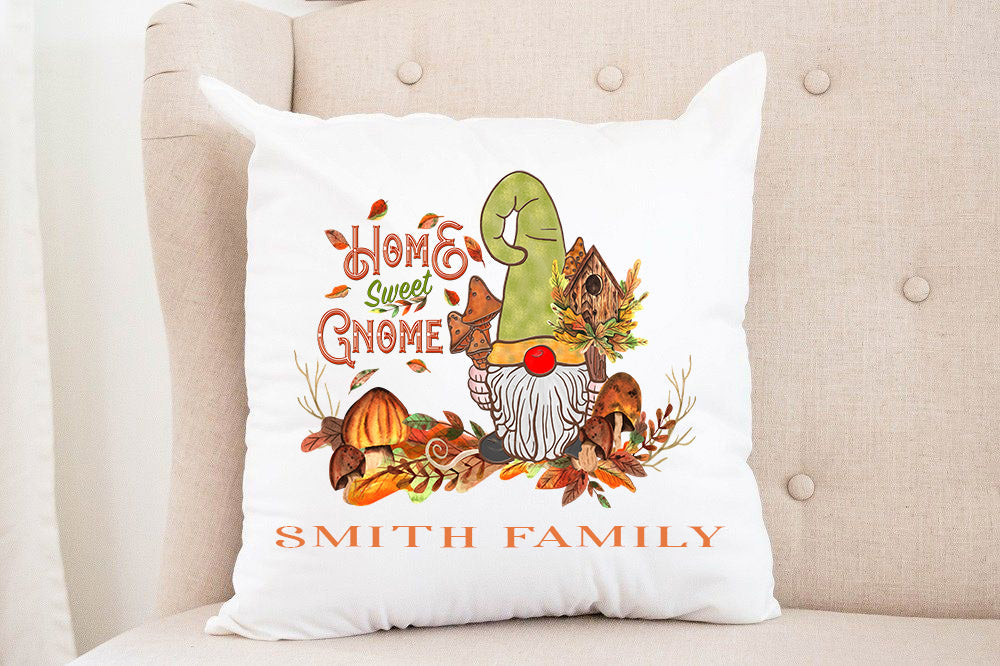 Welcome Gnome Pillow
