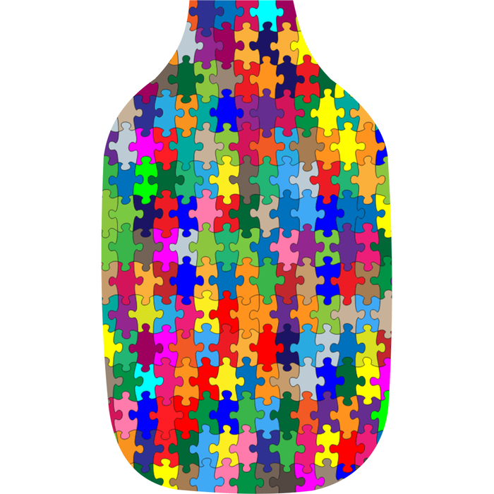 Puzzle Design Hand Sanitizer Holding with 30 ml bottle