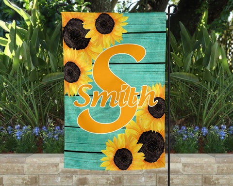Summer Sunflower Garden Flag