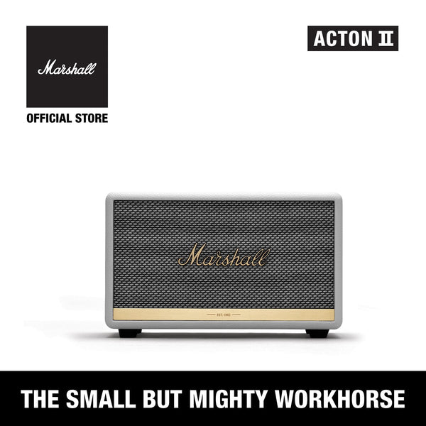 Acton II Bluetooth White [EVENT EXCLUSIVE], Speakers, Marshall, ASH Asia