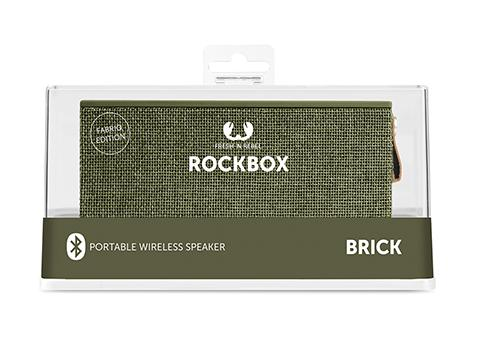 ROCKBOX BRICK - ARMY, Speakers, Fresh 'n Rebel, ASH Asia