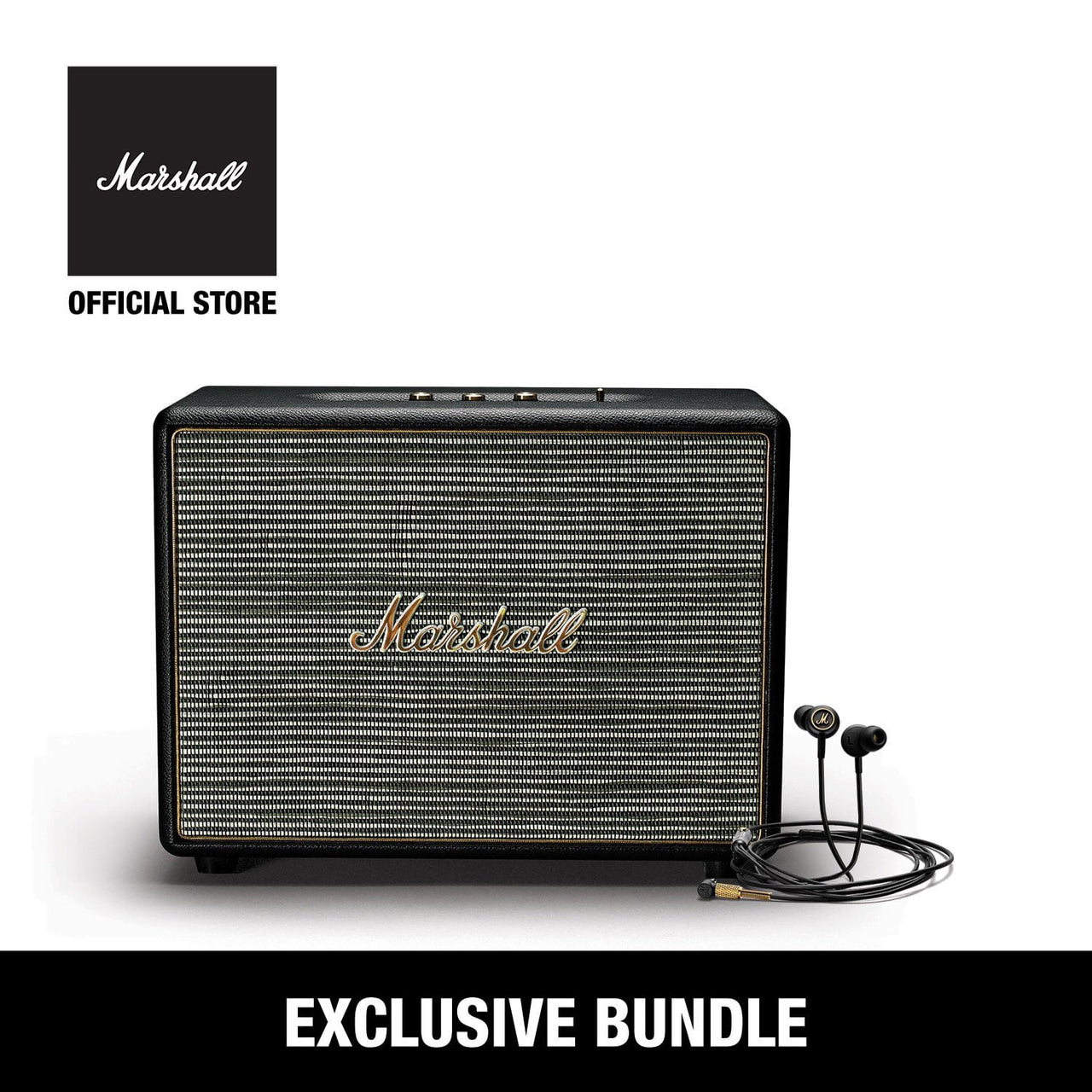 BUNDLE Woburn Black + Mode EQ Black&Brass, Marshall, Marshall, ASH Asia