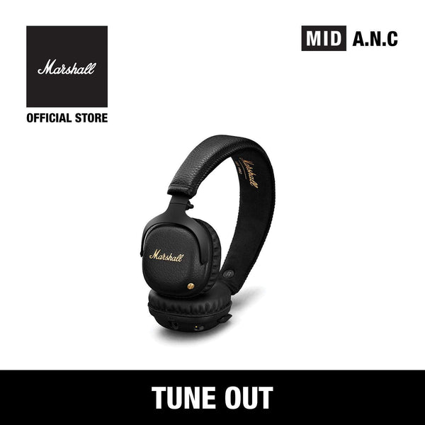 Mid Active Noise Cancelling Black [Exclusive Partner], Headphones, Marshall Headphones, ASH Asia