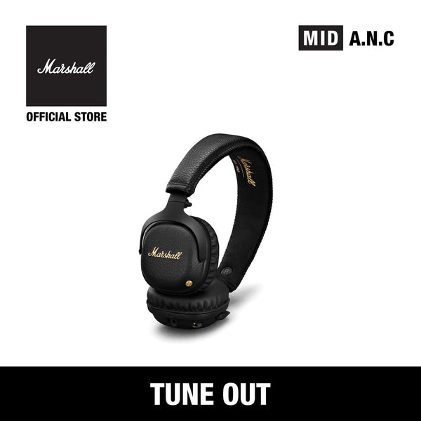 Mid Active Noise Cancelling Black [EVENT EXCLUSIVE], Headphones, Marshall Headphones, ASH Asia