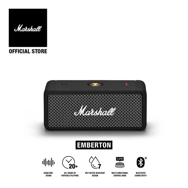 Marshall Emberton Black