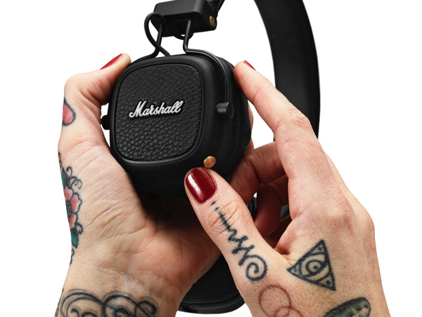 หูฟังไร้สาย - MARSHALL MAJOR III BLUETOOTH BLACK, Headphones, Marshall Headphones, ASH Asia