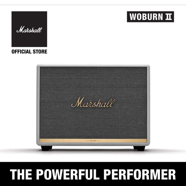 Woburn II Bluetooth White [Exclusive Partner], Speakers, Marshall, ASH Asia