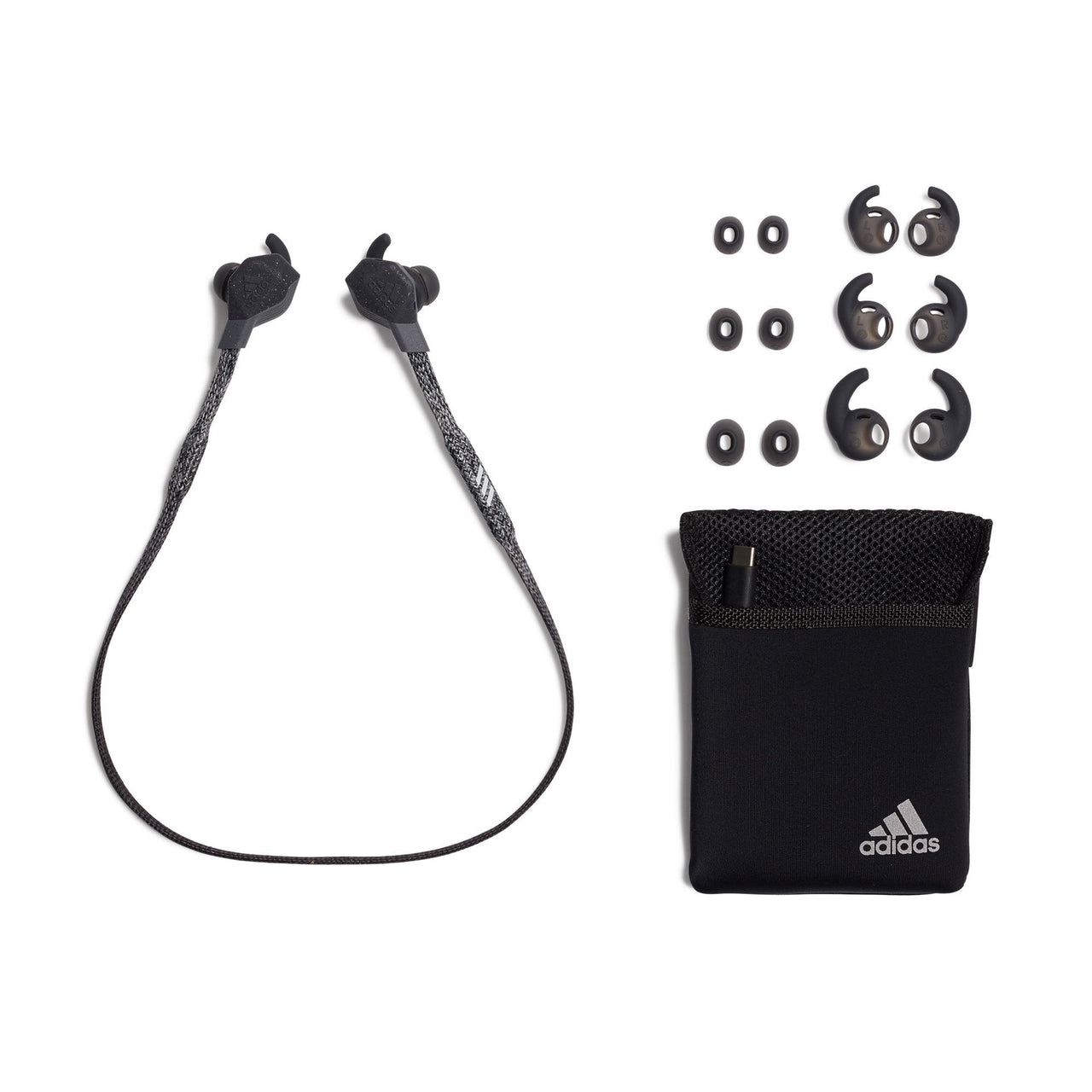 ADIDAS BLUETOOTH IN-EAR HEADPHONE -  FWD-01 NIGHT GREY, Headphones, Adidas, ASH Asia