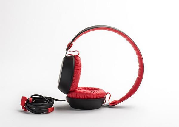 BOOM - BLOCKS BLACK/RED, Headphones, Coloud, ASH Asia