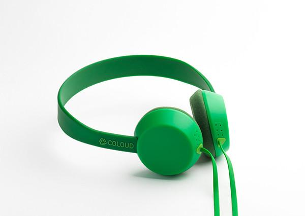 KNOCK - TRANSITION GREEN, Headphones, Coloud, ASH Asia