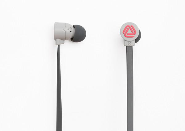 POP - BLOCKS GREY/RED, Headphones, Coloud, ASH Asia