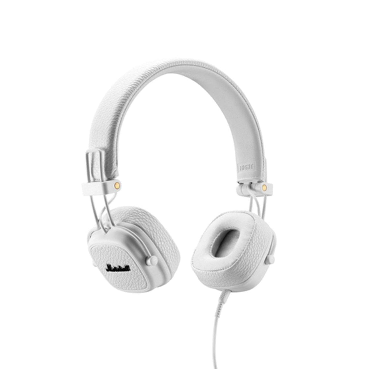 MARSHALL MAJOR III WIRED - WHITE [Exclusive for Siam@Siam employees ], Headphones, Marshall Headphones, ASH Asia