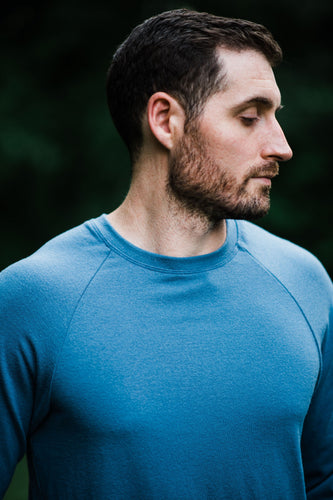 Merino Jersey: Adult Mountain Raglan