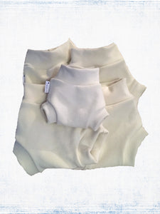 Natural wool interlock diaper covers-soakers- made to order (all sizes) HumOriginal