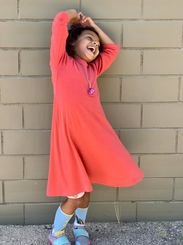 Merino Jersey: Child/Youth Twirly Dress