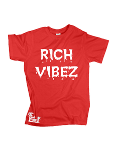 RV DRIP TEE (Red/White)