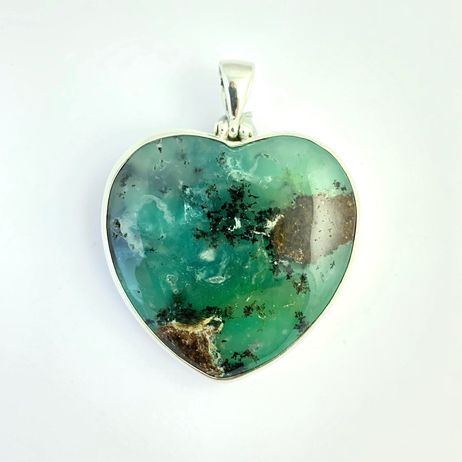 Chrysoprase Heart