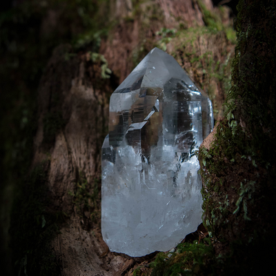 Clear Quartz Optical Cathedral