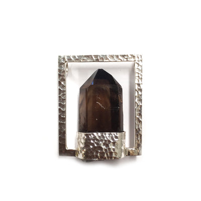 Smokey Quartz Point Pendant