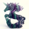 Rainbow Fluorite Unicorn