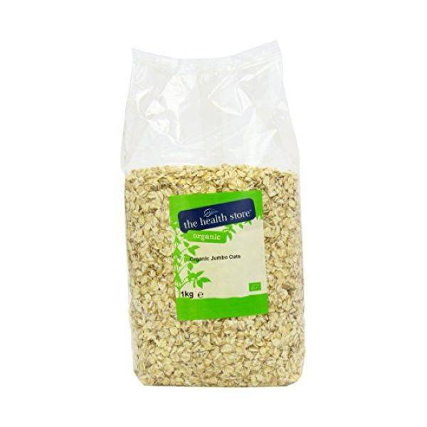 Ths Organic Cereal Flakes - Ths Organic Oats Jumbo 1kge (x 6pack)