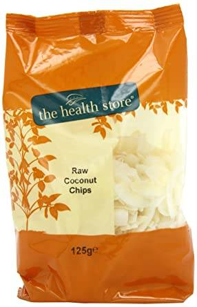 Ths Nuts - Ths Coconut Chips Raw 125ge (x 12pack)