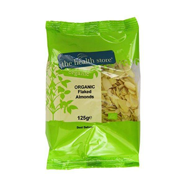 Ths Organic Nuts - Ths Organic Almonds Flaked 125ge (x 6pack)