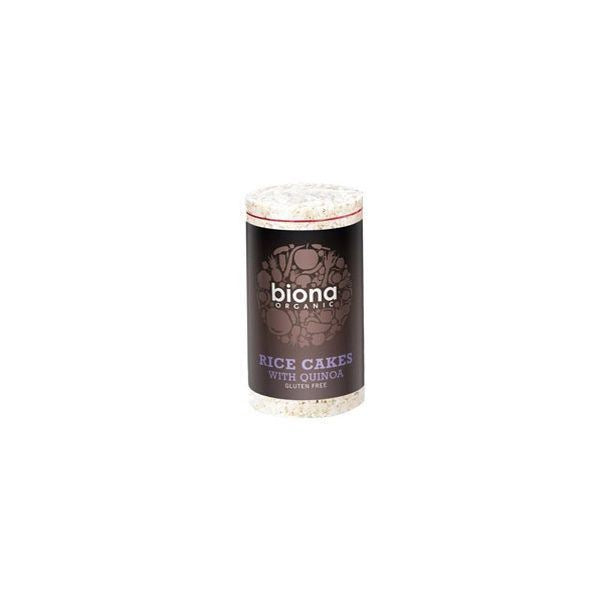 Biona Organic Rice Cakes With Quinoa 100g x 12