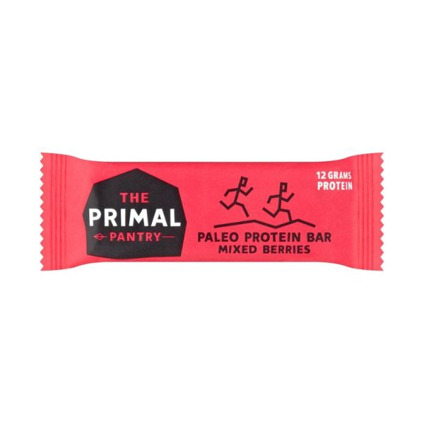 The Primal Pantry Mixed Berries Paleo Protein Bar 55g x 15