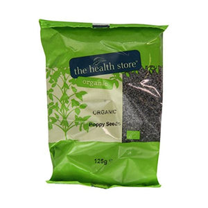The Health Store Organic Poppy Seeds 125g x 6