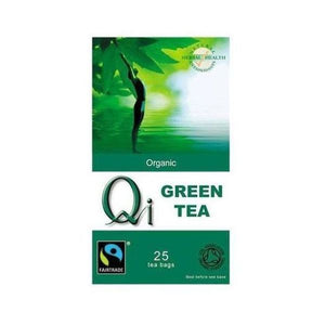 Qi Pure & Simple Green Tea 25 Teabags