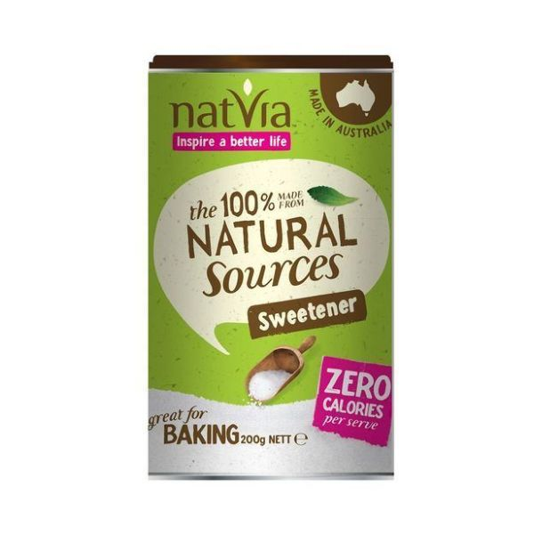 Natvia 200G Canister - Contains Stevia 200g x 4