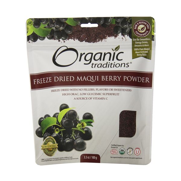 Organic Traditions Organic Freeze Dried Maqui Berry Powder 100g