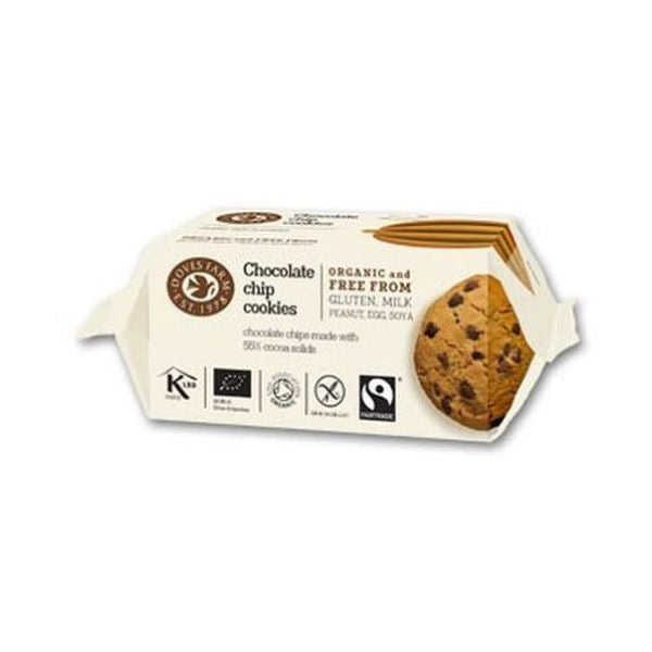 Doves Farm Organic Chocolate Chip Cookies 180g