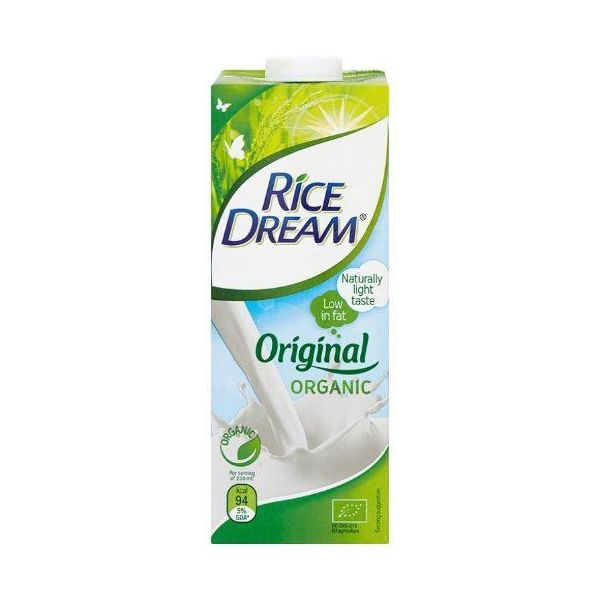 Dream Organic Rice Original 1ltr x 12