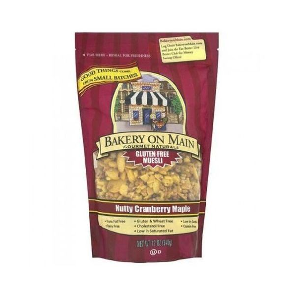 Bakery On Maine Nutty Cranberry, Maple Gluten Free Granola 340g
