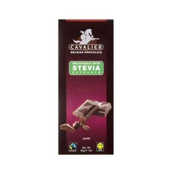 Cavalier Stevia - Dark Chocolate Tablet 85g x 14