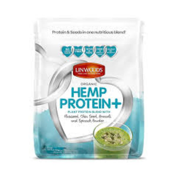 Linwoods Hemp Protein + Flaxseed Chia Brocolli & Spinach 360g