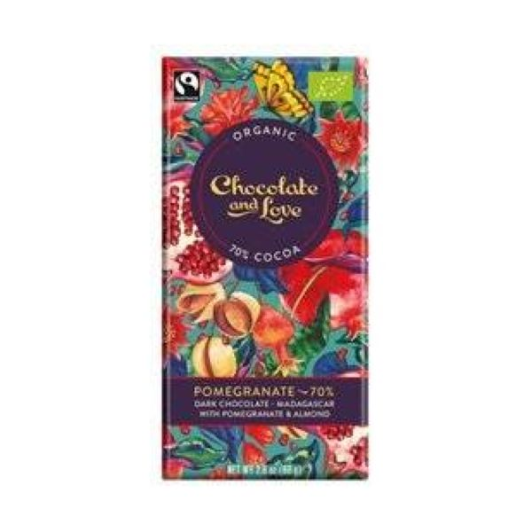 Chocolate And Love Pomegranage 80% 80g x 14