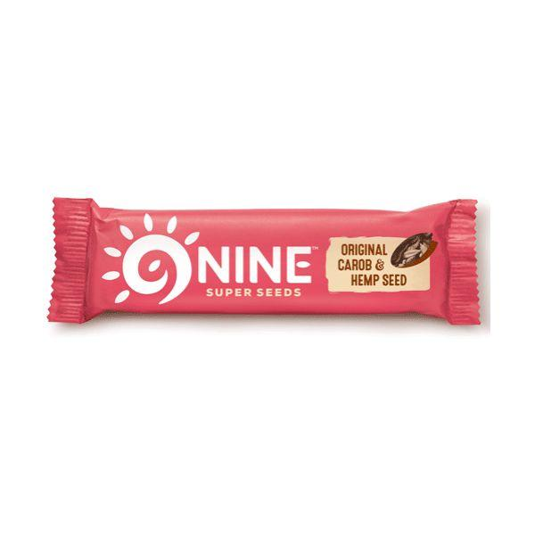 9 Nine Brand Foods Ltd Original Carob & Hemp Seed