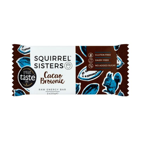 Squirrel Sisters Cacao Brownie 2 x 20g x 16