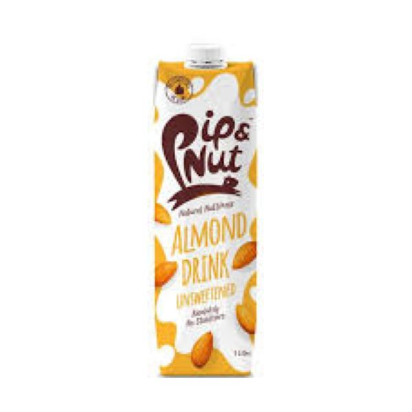 Pip Nut Unsweetened Almond Drink 1ltr